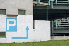 Nuovo parcheggio Fotografia Stock