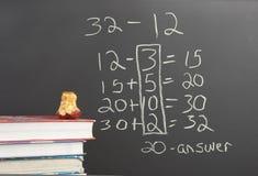 Nuovo per la matematica del centro comune Immagini Stock Libere da Diritti