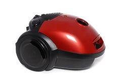 Nuovo piccolo aspirapolvere rosso isolato Immagine Stock