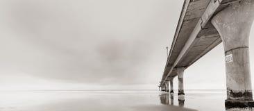 Nuovo pilastro di Brighton, Christchurch fotografia stock