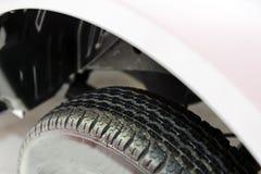 Nuovo pneumatico dell'automobile Immagini Stock Libere da Diritti
