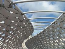 Nuovo ponte a Astana fotografia stock libera da diritti
