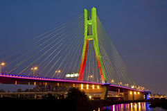 Nuovo ponte del nord Fotografia Stock Libera da Diritti