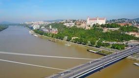 Nuovo ponte di SNP, Bratislava archivi video