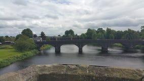 Nuovo ponte di Stirling fotografia stock