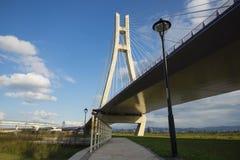 Nuovo ponte di Taipei Fotografia Stock Libera da Diritti