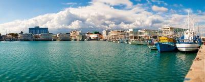 Nuovo porticciolo di Limassol Fotografie Stock Libere da Diritti