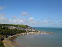 Nuovo Quay Galles Fotografie Stock
