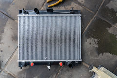 Nuovo radiatore dell'automobile Fotografia Stock