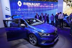 Nuovo Renault Megane allo IAA 2015 Immagini Stock Libere da Diritti