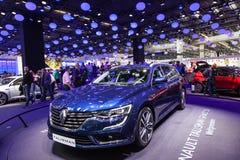Nuovo Renault Talisman Grandtour allo IAA 2015 Fotografia Stock Libera da Diritti