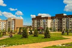 Nuovo ` residenziale Ulitka della vicinanza/` della lumaca Iarde residenziali interne Immagine Stock