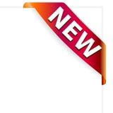 Nuovo ribbon21 Fotografie Stock Libere da Diritti