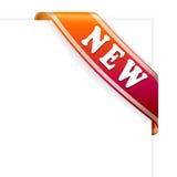 Nuovo ribbon3 Fotografie Stock