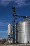 Nuovo silo Immagine Stock