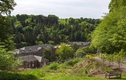 Nuovo sito del patrimonio mondiale di Lanark Fotografia Stock