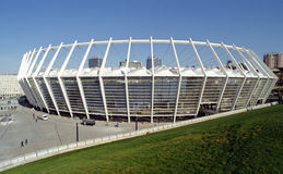 Nuovo stadio a Kiev Fotografie Stock
