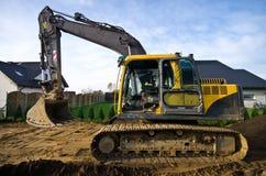 Nuovo suolo per il giardino domestico Fotografia Stock