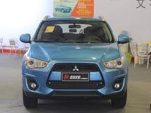 Nuovo suv del asx di Mitsubishi Immagini Stock Libere da Diritti
