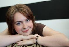 Nuovo taglio di capelli Fotografia Stock Libera da Diritti