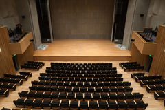 Nuovo teatro Fotografia Stock Libera da Diritti