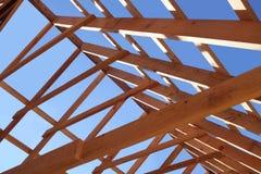 Nuovo tetto che è costruito Immagine Stock