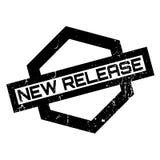 Nuovo timbro di gomma del rilascio Immagine Stock Libera da Diritti