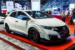 Nuovo tipo-r di Honda Civic Immagini Stock
