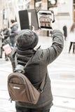 Nuovo tipo turistico fotografia stock