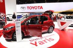 Nuovo Toyota Yaris Fotografie Stock