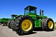 Nuovo trattore di John Deere 8440 Fotografia Stock Libera da Diritti