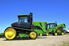 Nuovo trattore di John Deere 9570RT Immagini Stock Libere da Diritti