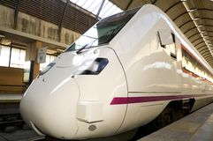 Nuovo treno Fotografie Stock Libere da Diritti