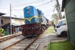 Nuovo treno Fotografia Stock Libera da Diritti