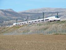 Nuovo treno ad alta velocità Immagine Stock
