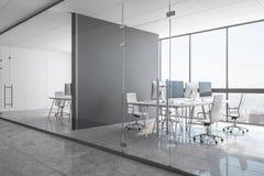 Nuovo ufficio coworking concreto illustrazione vettoriale