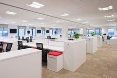 Nuovo ufficio vuoto Fotografie Stock Libere da Diritti
