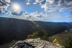 Nuovo Virginia Occidentale della gola del fiume Fotografia Stock Libera da Diritti