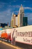 Nuovo York-nuovo York sulla striscia di Las Vegas Fotografie Stock Libere da Diritti