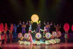 Nupcial procesión-ella danza popular aduana-china de la nacionalidad Fotografía de archivo libre de regalías