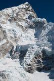 Nuptse en el Himalaya Fotos de archivo