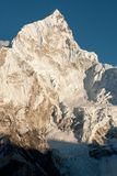 Nuptse from Kala Patthar Royalty Free Stock Images