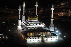 Nur Astana - central moské i Astana, Kasakhstan. Royaltyfri Bild