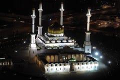 Nur Astana - centrale moskee in Astana, Kazachstan. Royalty-vrije Stock Afbeelding