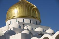 Nur Astana-moskee buitendetail in Astana, Kazachstan Royalty-vrije Stock Afbeeldingen