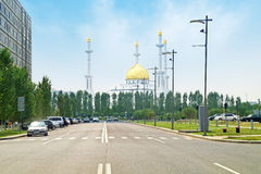 Nur-Astana Mosque Stock Photos