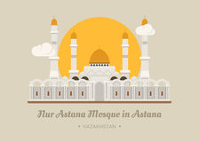Nur-Astana Mosque in Astana , Kazakhstan Stock Photography