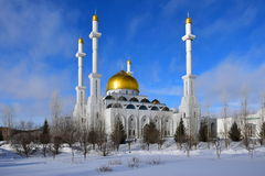 The NUR ASTANA mosque in Astana / Kazakhstan Royalty Free Stock Photo
