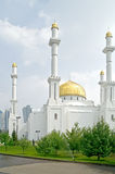Nur-Astana Mosque Stock Images