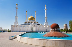 Nur-Astana Mosque Royalty Free Stock Photos